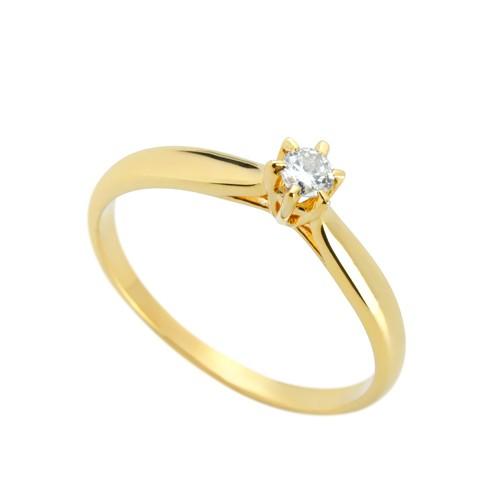 Anéis de Ouro 18k 750