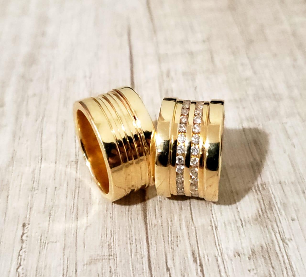 Alianças de ouro O PAR